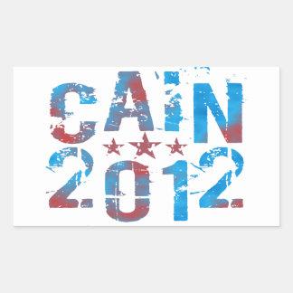 Herman Cain for President in 2012 Rectangular Sticker