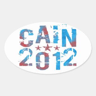 Herman Cain for President in 2012 Sticker