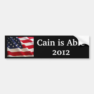 Herman Cain is Able Bumper Sticker