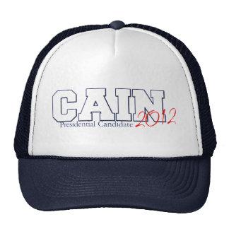Herman Cain Presidential Candidate 2012 Cap