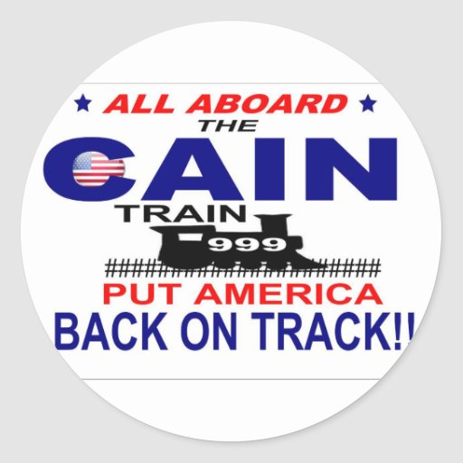 Herman Cain Stickers