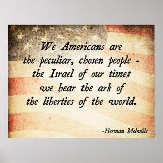 Herman Melville Poster