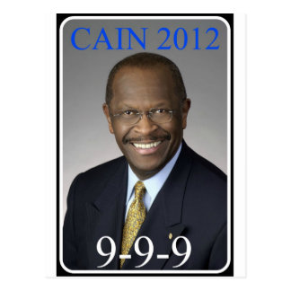 HermanCain_Zazzle Postcard