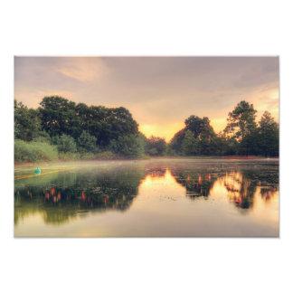 Hermann Park Mist Photo Print