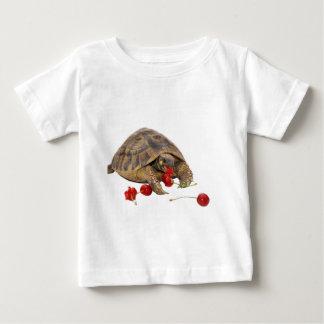 Hermann Tortoise and Strawberries Baby T-Shirt