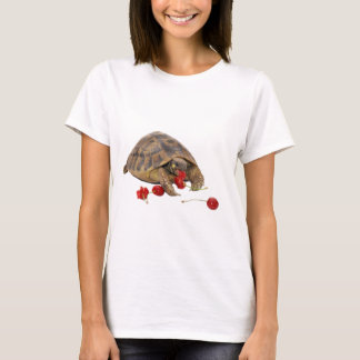 Hermann Tortoise and Strawberries T-Shirt