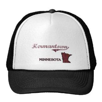 Hermantown Minnesota City Classic Hat