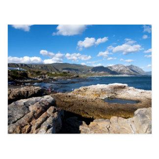 Hermanus coastline postcard