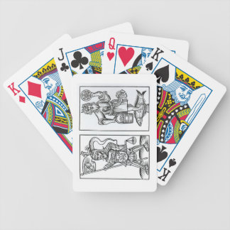 Hermensul or Irmensul (left) and Crodon (right) id Bicycle Playing Cards