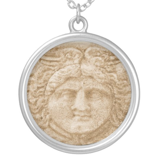 HERMES -  messenger of the gods Silver Plated Necklace