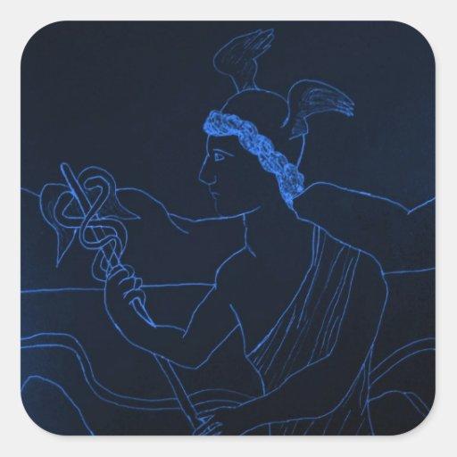 Hermes - The Messenger God Sticker