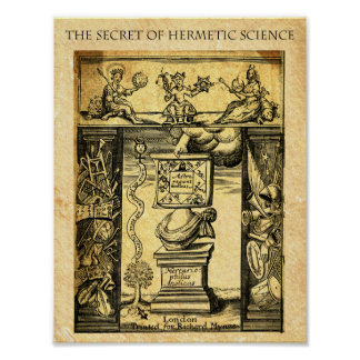 HERMETIC SCIENCE POSTER