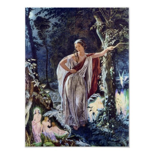 Hermia and the Fairies Victorian Fairy Art Print
