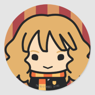 Hermione Granger Cartoon Character Art Classic Round Sticker