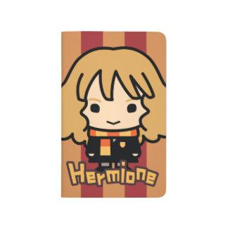 Hermione Granger Cartoon Character Art Journal