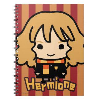 Hermione Granger Cartoon Character Art Notebook