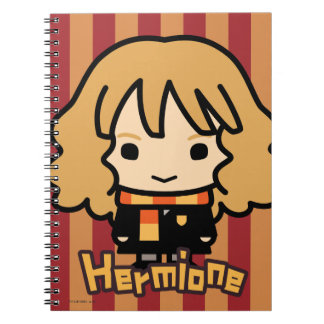 Hermione Granger Cartoon Character Art Notebooks