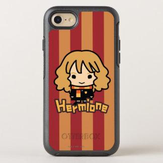 Hermione Granger Cartoon Character Art OtterBox Symmetry iPhone 8/7 Case