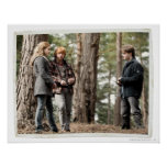 Hermione, Ron, and Harry 2 Print