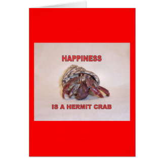 Hermit Crab #14 Card