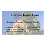 Hermit Crab in Tree blue background Business Cards