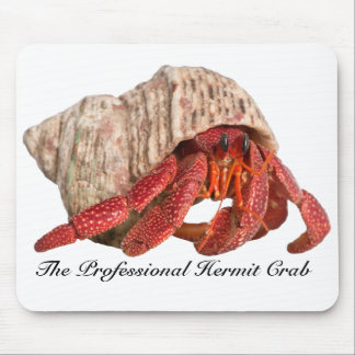 Hermit Crab Mousepad, The Professional Hermit Crab Mouse Mat