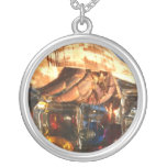 Hermit Crab on Ice Cubes Necklace
