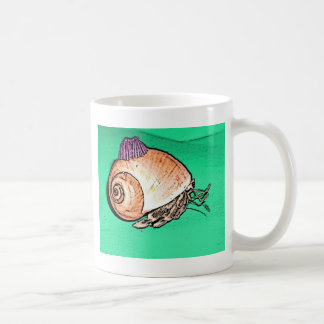 Hermit Crab with a Barnacle Shell Hat Coffee Mug