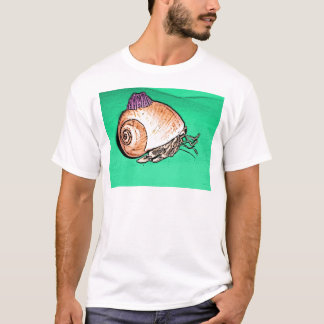 Hermit Crab with a Barnacle Shell Hat T-Shirt