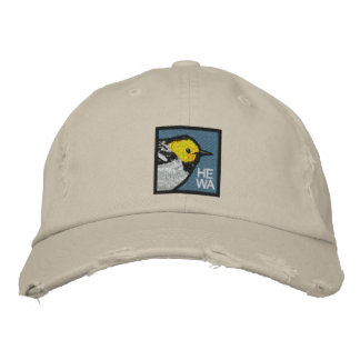 Hermit Warbler Embroidered Cap