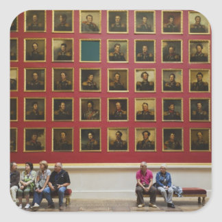 Hermitage Museum, Room 197, The 1812 War Gallery Square Sticker