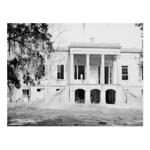 Hermitage Plantation Savannah Georgia Postcard