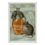 Hermitage Sour Mash Vintage Drink Ad Art Posters