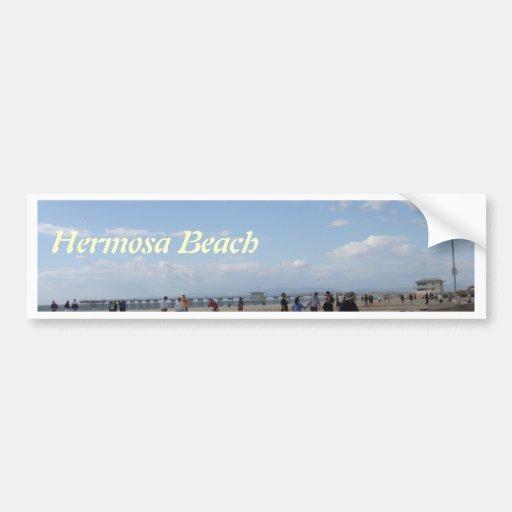 Hermosa Beach, California Bumper Sticker