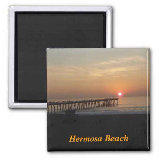 Hermosa Beach magnet