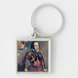 Hernando Cortes Key Ring