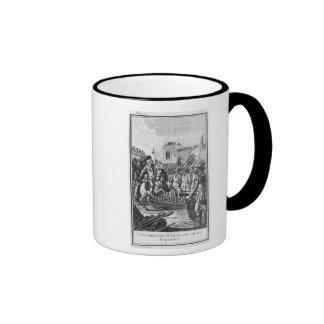 Hernando Cortes  Reviewing his Troops Mugs