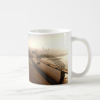 Hernando de Soto Bridge in Memphis Coffee Mug