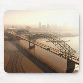 Hernando de Soto Bridge in Memphis Mouse Mat