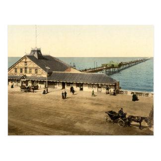 Herne Bay Pier, Kent, England Postcard