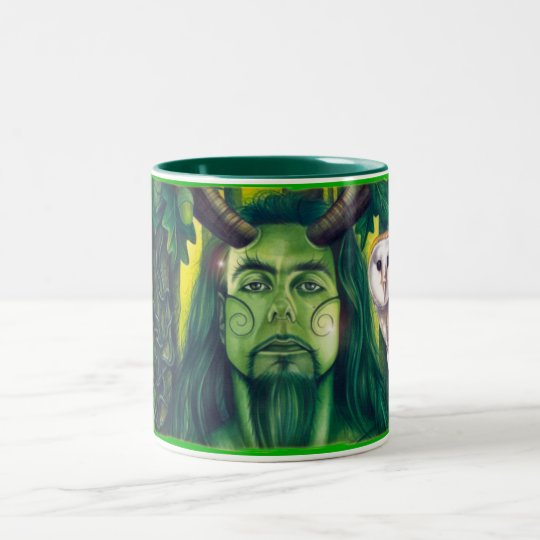 Herne the Hunter Two-Tone Coffee Mug