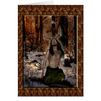 Herne, The Reborn Lord Greeting Card