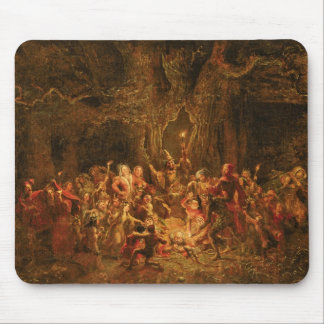 Herne's Oak from 'The Merry Wives of Windsor' by W Mouse Mat