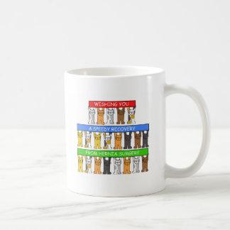 Hernia Surgery speedy recovery. Coffee Mug