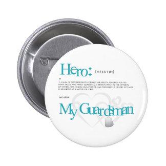 Hero 6 Cm Round Badge