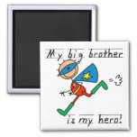 Hero Big Brother Tshirts and Gifts Magnet