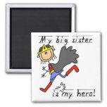 Hero Big Sister Tshirts and Gifts Magnet