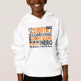 HERO COMES ALONG 1 Nephew LEUKEMIA T-Shirts