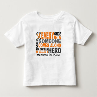 HERO COMES ALONG 1 Uncle LEUKEMIA T-Shirts