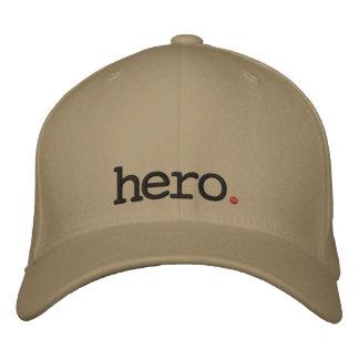 hero embroidered cap